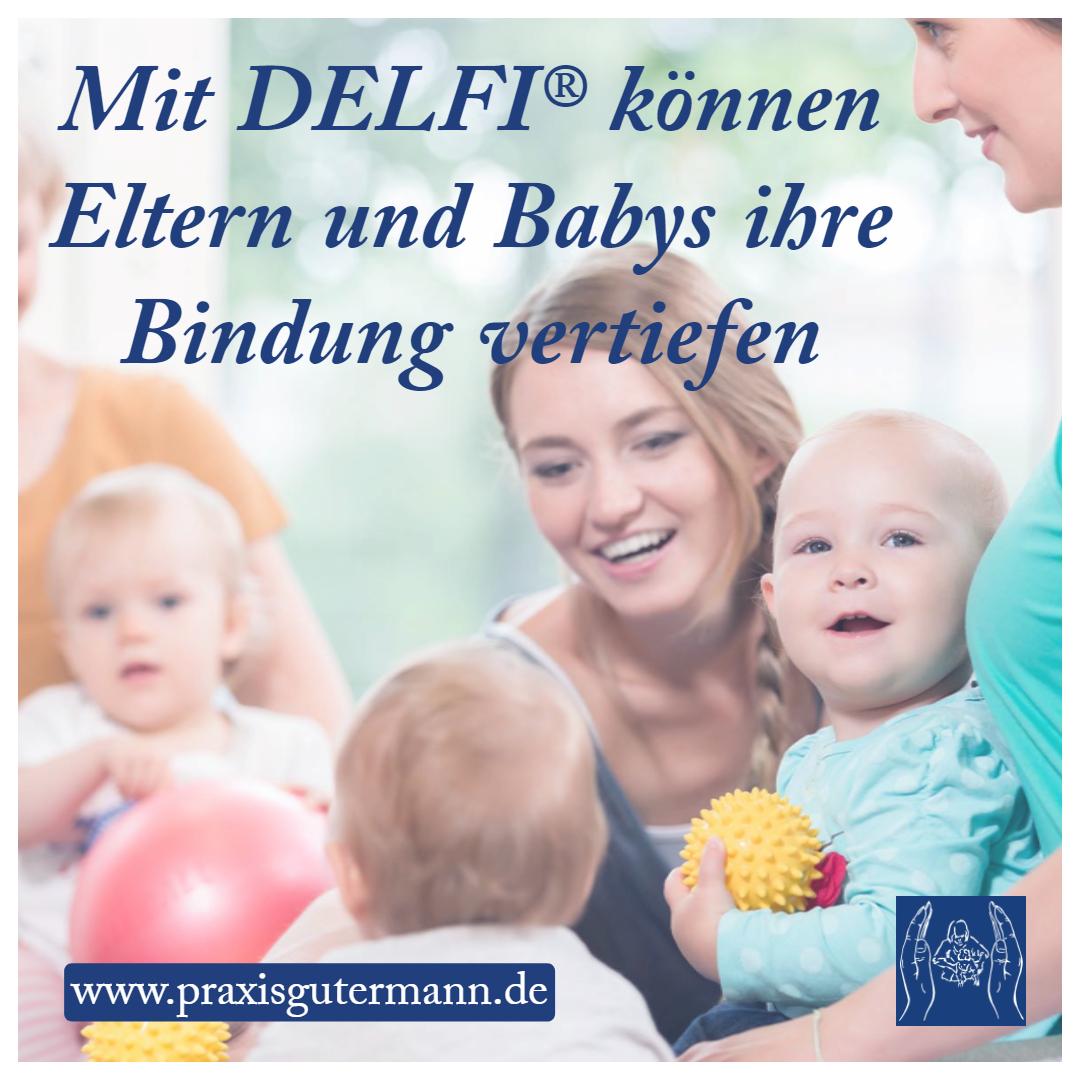 Mit DELFI können Eltern und Babys ihre Bindung vertiefen