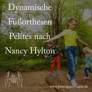 Dynmaische Fußorthesen (Pelites nach Nancy Hylton)