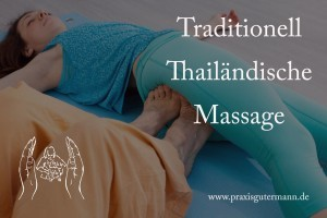 Traditionell Thailändische Massage