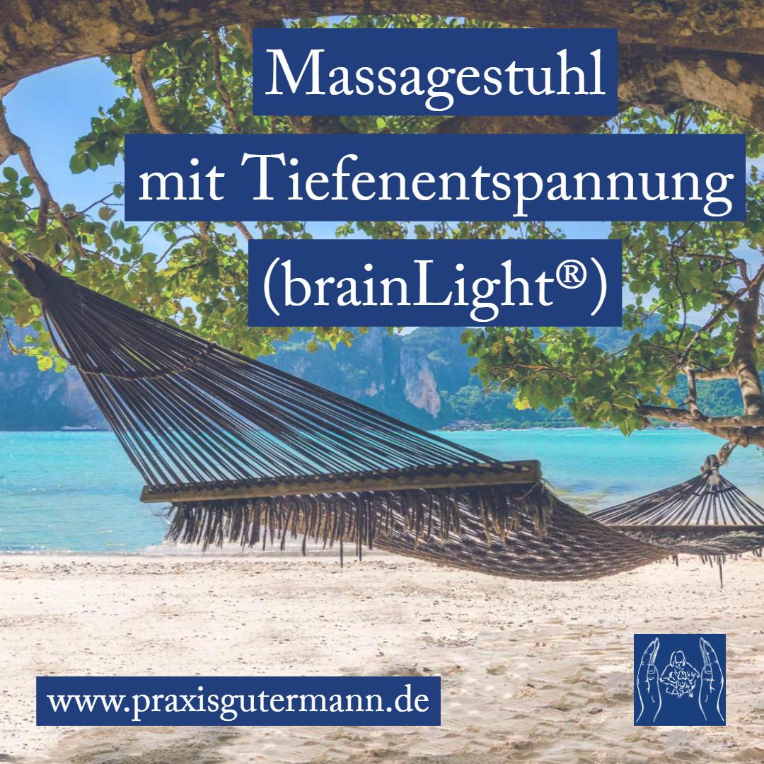 Massagestuhl mit Tiefenentspannung (brainLight®)